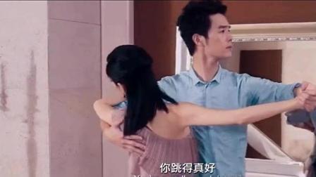 景甜的大长腿天生就是跳舞的, 张柏芝看了一直大赞有魅力