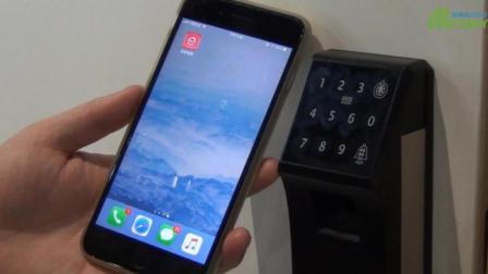 在手机app易家智联中添加防盗电子门锁并操作的学习方法-晶控智能家居控制系统