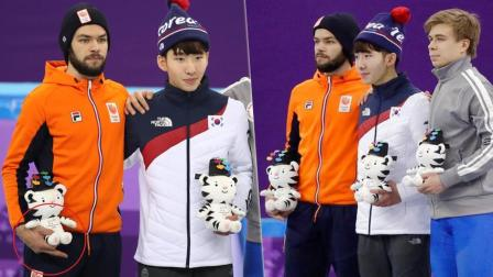 中国短道速滑队集体被黑 此人4年2次侮辱韩国选手