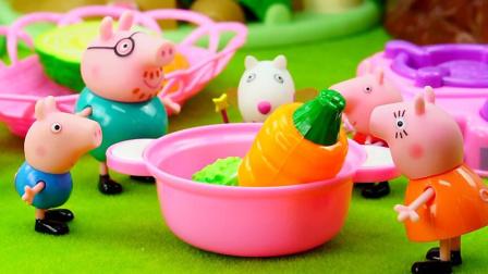 玩具口袋 第一季 小猪佩奇之一家人去公园野餐 1669