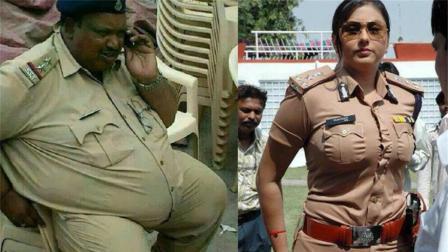 印度警察胖死的人是战死的两倍, 网友: 伙食太好了!