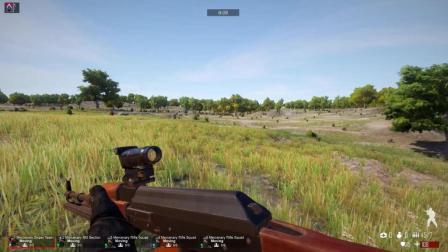 老吴解说: 骑马与砍杀现代战争第9集-轻机枪与RPG