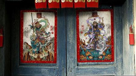 """""""贴门神""""的正确姿势, 5分钟了解中国门神发展史! 发财中国年!"""
