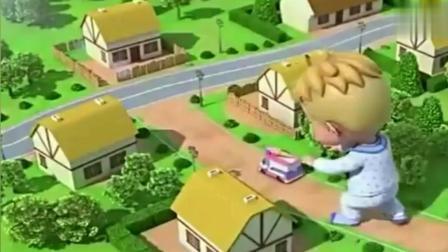 超级飞侠: 乐迪帮巨人爱丹想办法, 怎么才能吃到酸奶冰激凌?