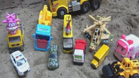 汽车飞机超级飞侠玩具试玩, 婴幼儿宝宝玩具游戏视频S33