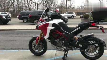 越野摩托车有辆杜卡迪就够了, 看到发动机那一刻, 真想立刻领走!