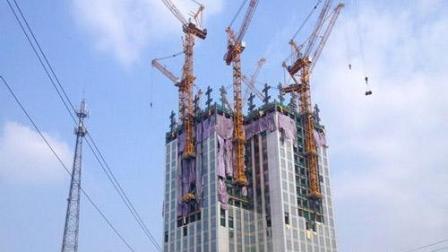 这就是中国速度! 19天建57层摩天大楼, 美国网友: 我们趁早投降吧