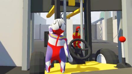 【屌德斯&小熙】 基佬大冒险 电工钢铁侠与叉车工迪迦奥特曼在配电厂爆笑闯关!