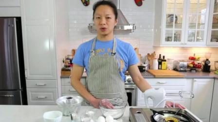 如何使用烤箱 蛋糕制作学习 牛奶蛋糕的做法