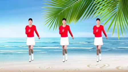 河北青青广场舞《踏浪》