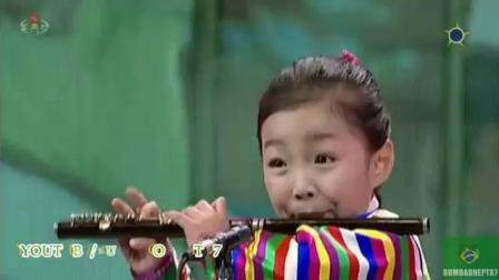 """""""曹县""""小萝莉吹笛子唱歌,很可爱,很好听"""