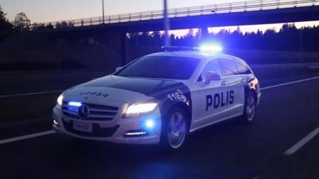 自动驾驶警车给你开罚单? 速度比警察还快!