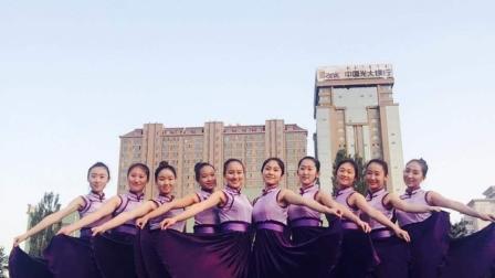 中央民族大学舞蹈学院16级女班,期末考试藏族组合