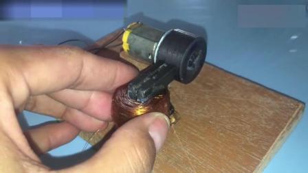 还在担心停电时怎么给手机充电吗 马达跟磁铁帮你解决