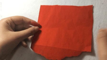 农村姑娘用红纸做鱼, 保质期长达10年
