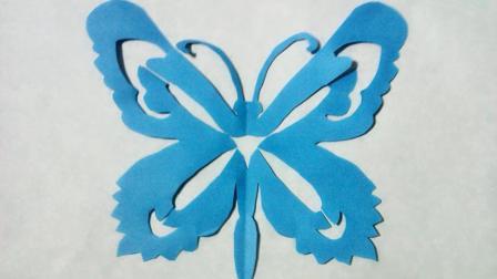 剪纸小课堂蝴蝶, 儿童喜欢的手工DIY剪纸, 动手又动脑