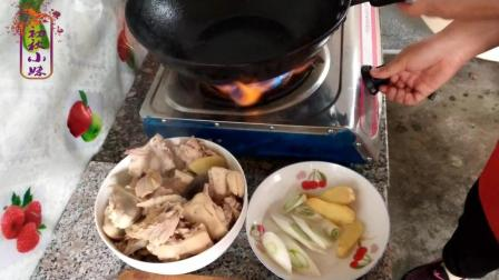 松蛾炖鸡的做法, 鸡肉最好吃的做法, 鸡肉怎么做才好吃又营养