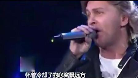 国外歌手致敬黄家驹, 一曲《海阔天空》, 感动全场