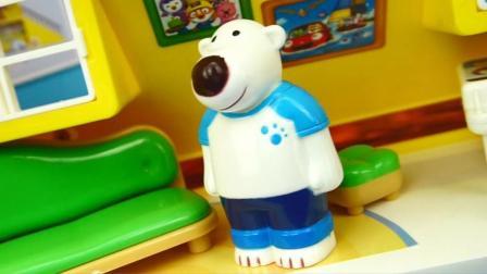 玩乐三分钟 小企鹅PORORO的角色扮演儿童玩具