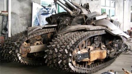 中国制造威震天坦克现身, 网友: 擎天柱还不快来!