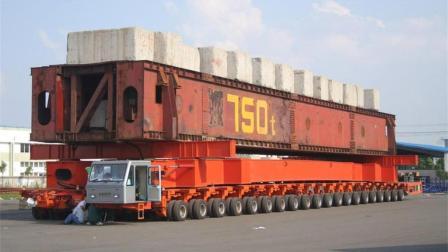 世界上轮胎最多的车, 五万吨照样拉得动, 就在中国!
