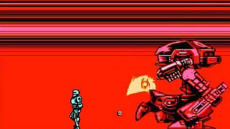 《机械战警1》最终BOSS真耐打, 当初能通过的也是有耐性的大神了