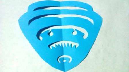剪纸小课堂贝壳, 儿童喜欢的手工DIY剪纸, 动手又动脑