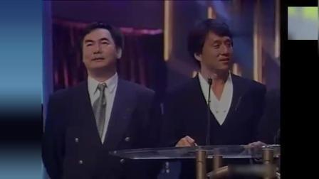 七小福巅峰时期同台出席颁奖, 洪金宝最霸气, 成龙最搞笑