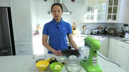 台州蛋糕培训 怎样自制蛋糕 8寸巧克力戚风蛋糕的做法