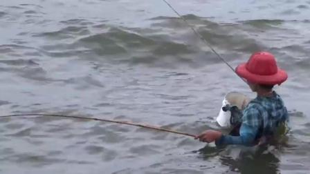 缅甸人的钓鱼方式, 真的很苦