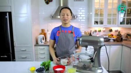 教我做蛋糕 学烤蛋糕 水果生日蛋糕制作视频