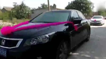 山西运城芮城县农村的结婚车队: 比山歌更美, 比舞曲悠扬