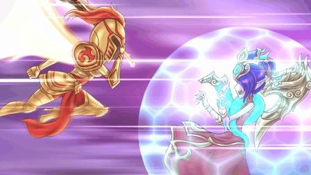 英雄联盟搞笑动画: 重口的百合花! 凯尔与亲妹妹莫甘娜的相爱相杀