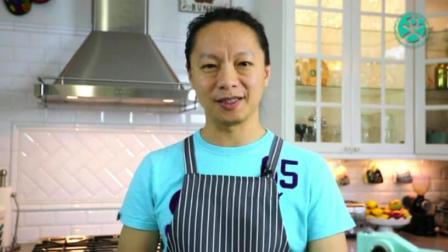 八寸蛋糕的做法 怎么自制蛋糕 翻糖蛋糕制作视频
