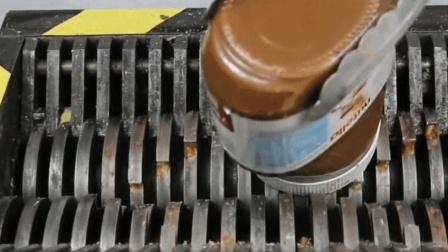 当巧克力酱遇到撕碎机, 结果会怎么样?