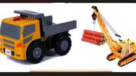翻滚吧大脚车 赛车总动员 挖掘机 推土机 吊车 大卡车 汽车总动员动画片中文版