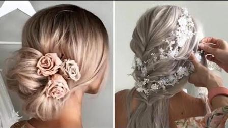 2018年流行新娘造型, 新娘发型步骤教程