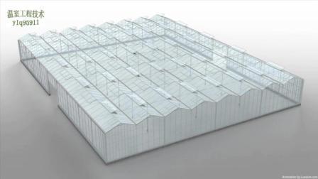 智能化温室大棚顶部电动天窗工作原理、涨知识