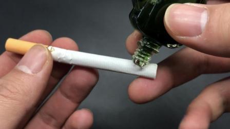 抽了30年的烟, 才知道风油精滴到香烟上, 还有这样的妙用