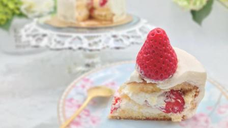 美食魔法: 草莓鲜奶油蛋糕, 东京制果学校大师配方