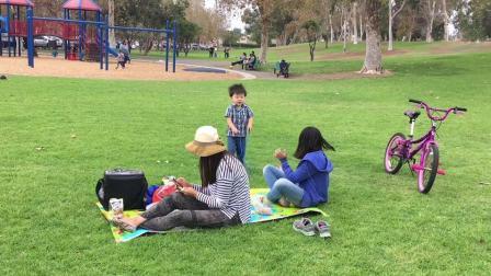 洛杉矶三城公园野餐