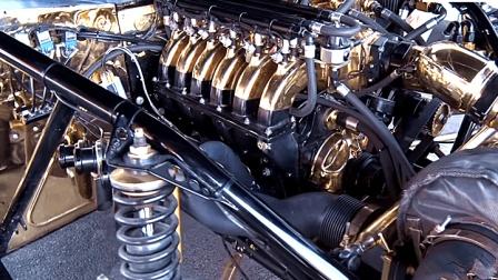 土豪给E46装黄金发动机, 光车头值78万, 起跑直接飘了!