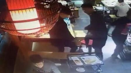 三男子吃完火锅后逃单 店员未察觉被罚