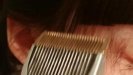 我妈妈从小到大都是这样子给我剪头发的