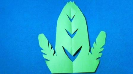 剪纸小课堂竹笋, 儿童喜欢的手工DIY剪纸, 动手又动脑