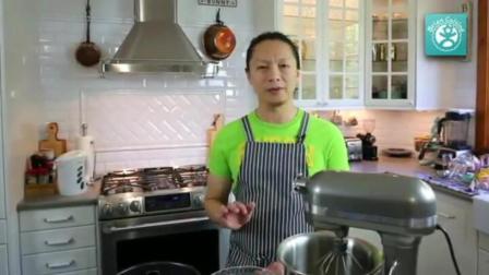 怎么烤蛋糕 水果奶油蛋糕 蛋糕的做法 烤箱