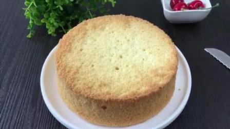 烘焙蛋糕 烤箱烤蛋糕的做法大全 跟君之学烘焙