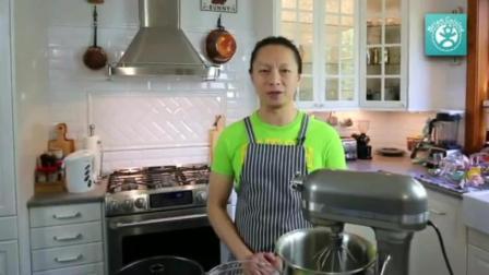 怎样烤蛋糕用烤箱 学蛋糕西点师那里培训学习 全蛋蛋糕的简易做法