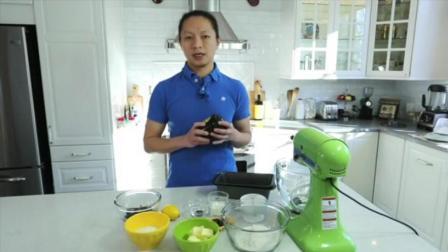 蛋糕的制作方法 巧克力芝士蛋糕的做法 电烤箱烤蛋糕