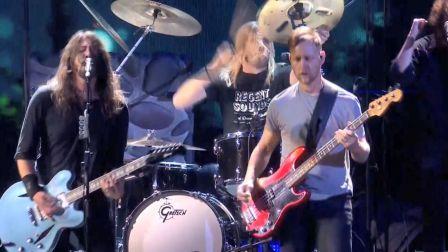 【猴姆独家】Foo Fighters做客2018年第38届#全英音乐奖#表演热单